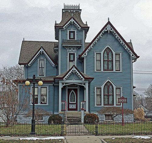 Springfield, Illinois / Victorian Houses on imgfave