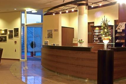 Rezeption im Hansa Apart-Hotel Regensburg