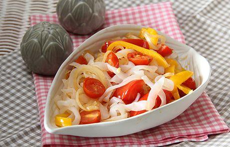 Konjaknudeln mit paprika und Tomaten_7839 Kopie