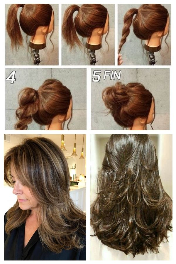 Simple And Fast Hairstyles For Medium Hair Best Hair Ideas Hairstyleslong Hairstyleslongbun Fast Hairstyles Medium Hair Styles Cool Hairstyles