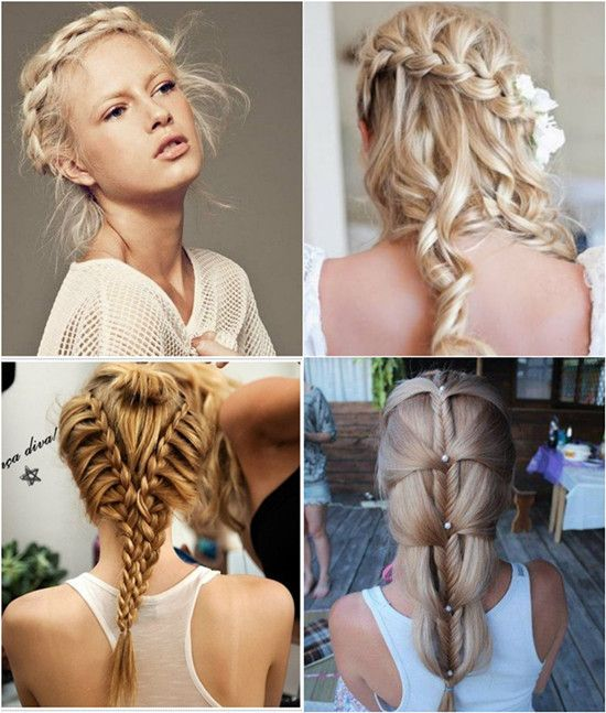 Wondrous Blonde Long Hair Braids Hairstyles Long 2014 In Blonde Inches Hairstyles For Women Draintrainus