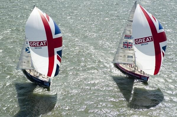 Twin beautiful racing yachts - Seatech Marine Products / Daily Watermakers