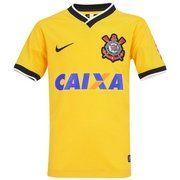 Camisa do Corinthians III 2014 s/nº Nike - Infantil