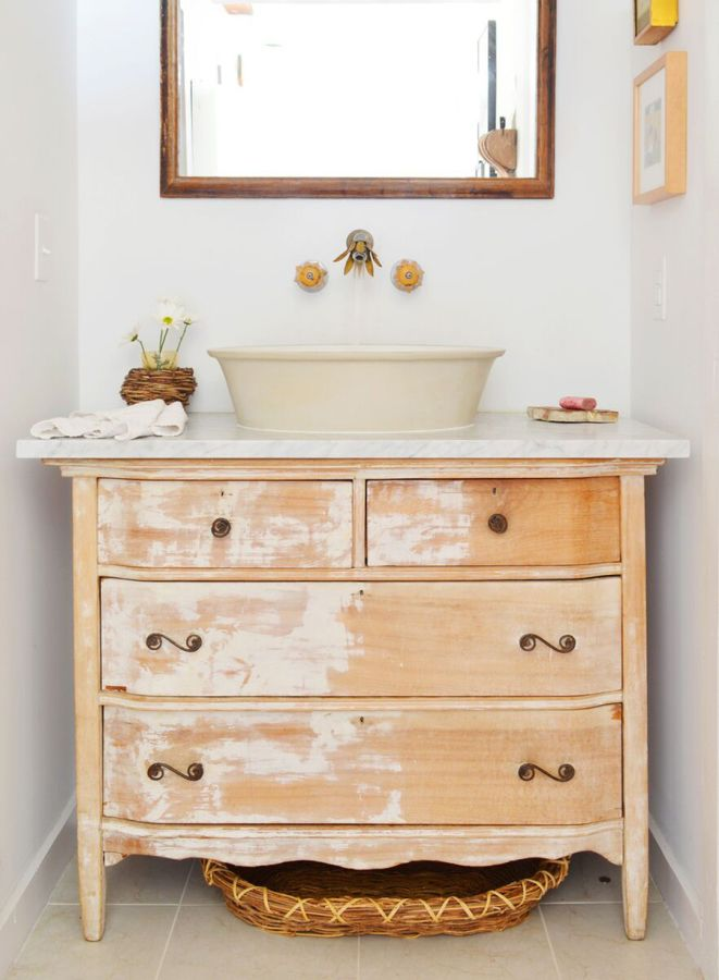 Don't Give Up on Hand-Me Down Furniture Too Quickly: http://www.stylemepretty.com/living/2015/09/22/lovable-livable-home-5-ways-to-add-love-to-your-home/