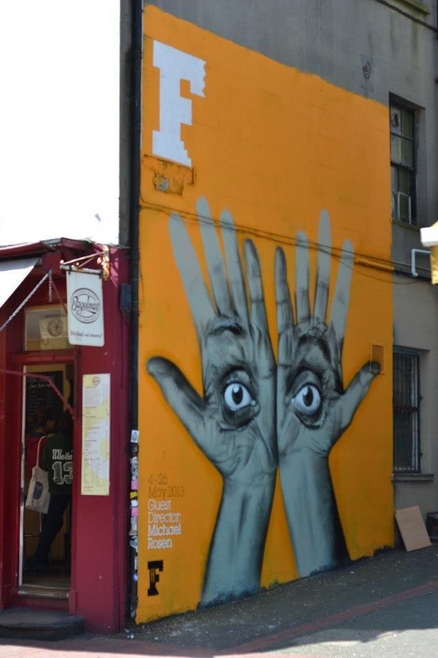 New Brighton Festival 2013 Graffiti