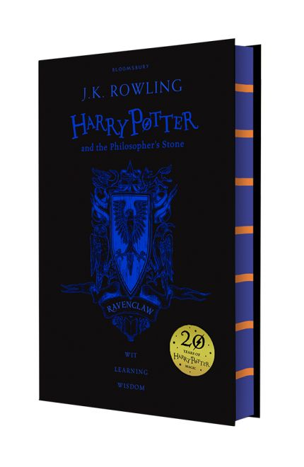 Celebrate 20 years of Harry Potter magic with four special editions of Harry Potter and the Philosopher's Stone. Gryffindor, Slytherin, Hufflepuff, Ravenclaw . Twenty years ago these magical words and many more flowed from a young writer's pen, an orphan called Harry Potter was freed from the cupboard under the stairs - and...