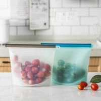 Reusable Food Storage Bags Fda Approved Silicone Food Storage Bags Plastic Free Food Storage Food Storage