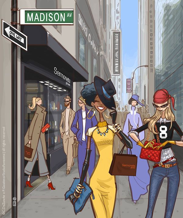 Sermoneta Gloves - New York boutique, Madison Avenue by studiofantasma.com