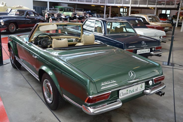 74 best images about mercedes 280sl on pinterest classic for Garage agree mercedes