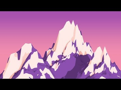 How to Create Cartoon Mountains in Cinema 4D - YouTube