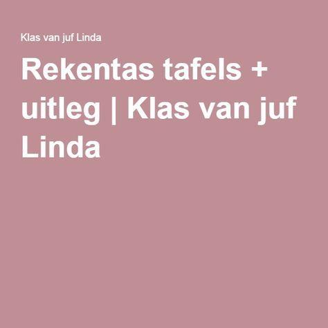 Rekentas tafels + uitleg   Klas van juf Linda