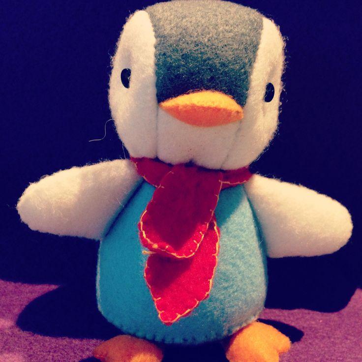 Felt penguin!