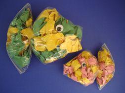 .: Perfect Ocean, Plastic Bags, Ocean Animal Crafts, Ziplock Bags Crafts, Scrunch Paper, Kids Crafts, Fish Crafts, Zip Locks Baggy, Fish Baggy