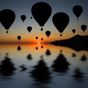 Hot Air Balloons. by rachelpp