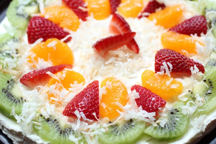 Fruit Pizza What Would You Bring To A Picnic Recipes