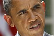Obama se enojó con un periodista que interrumpió su discurso