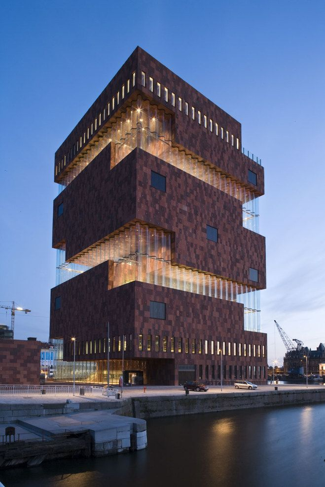 MAS | Museum Aan de Stroom Neutelings Riedijk Architects