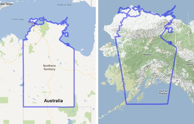 <b>Australia is a REALLY big country.</b> Seriously.