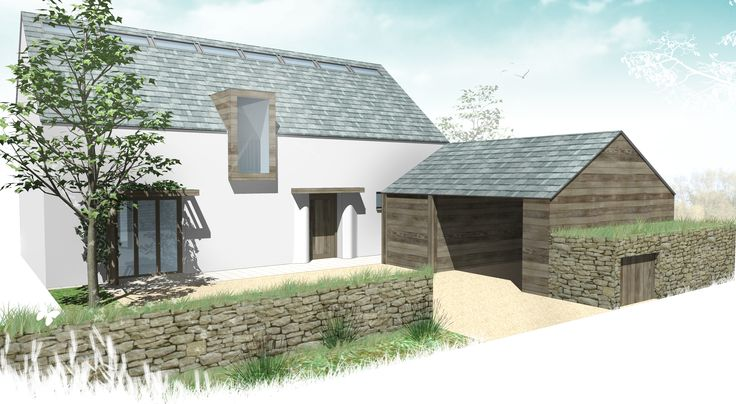 Cornwall Eco-House - A competition entry for the architectural design of a sustainable house.