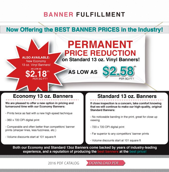 Best Vinyl Banner Prices in the Industry -  Wholesale Banners Online!
