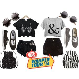 outfits for warped tour!  follow me on polyvore: http://gracie-face-01.polyvore.com/