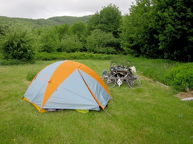 Camping & Glamping by Indian Brook at Cabot Shores on the Cabot Trail