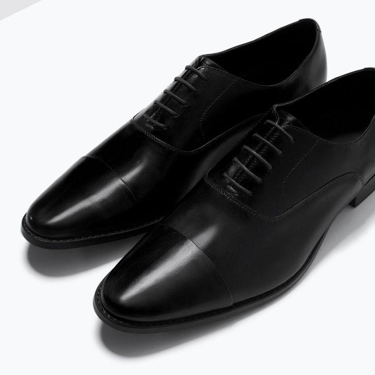 ZAPATO INGLÉS PIEL VESTIR-Zapatos-Zapatos-HOMBRE | ZARA México