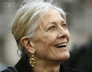 Vanessa Redgrave- refuses to have surgery so we can see what aging really looks like in hollywood