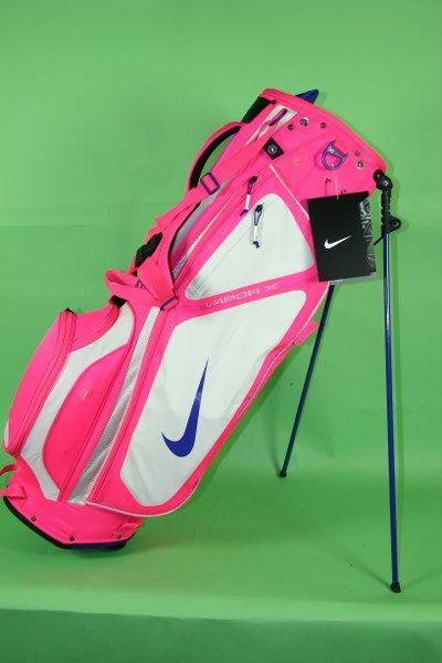 2012 Nike Vapor X Carry Golf Bag - Pink. Roo needs this for her clubs!