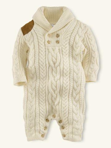 Ralph Lauren shawl coverall