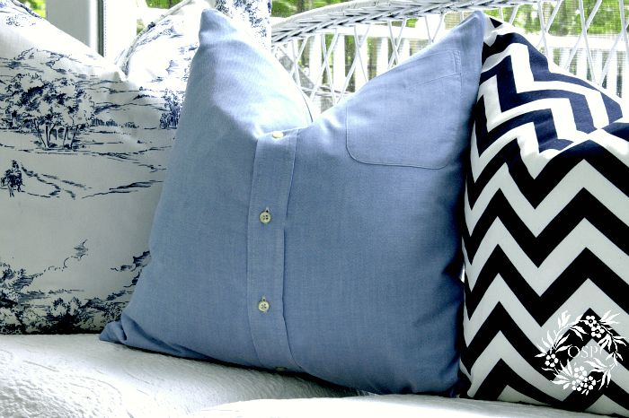 Repurposed Shirt Pillow Cover. My Mom made me one of these from my Dads shirt.Love it. Great gift for a kid of any age. Super sweet story on this site of these being given to kids who's Dad or Grandpa has gone to heaven.