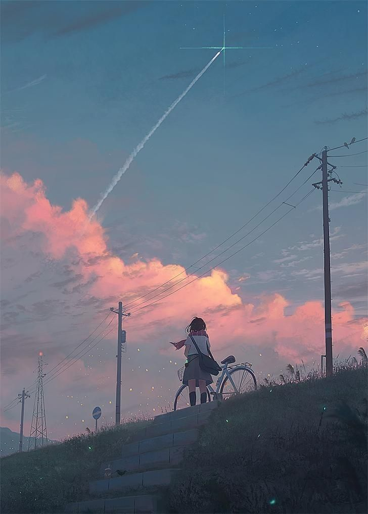 Wallpaper Di 2020 Pemandangan Anime Pemandangan Fotografi Alam