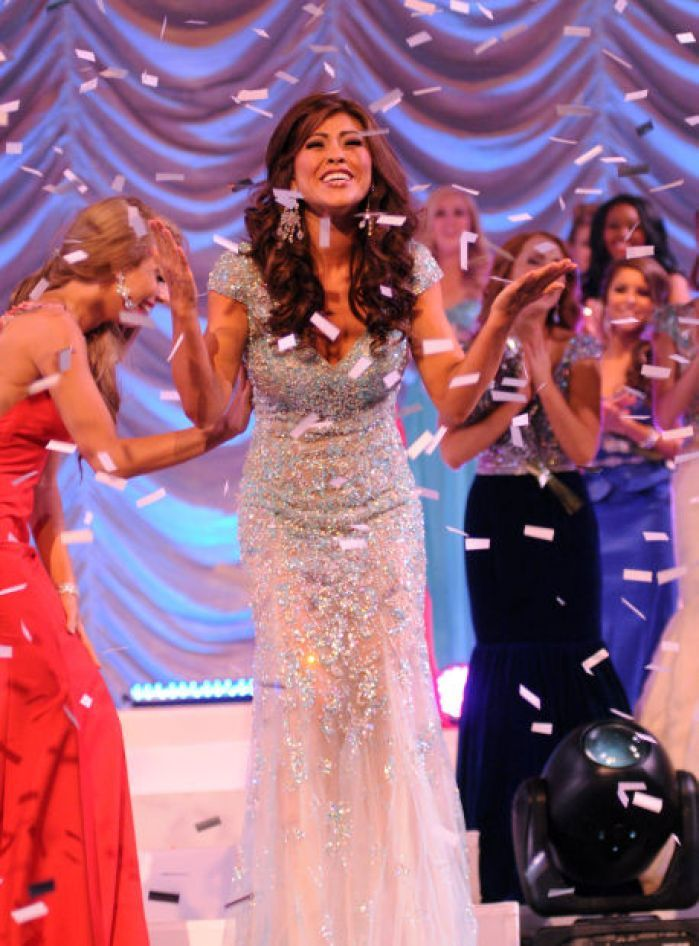 Miss Illinois 2014 Evening Gown: HIT or MISS? http://www.thepageantplanet.com/miss-illinois-2014-evening-gown/
