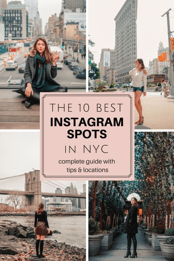 The Best NYC Instagram Spots