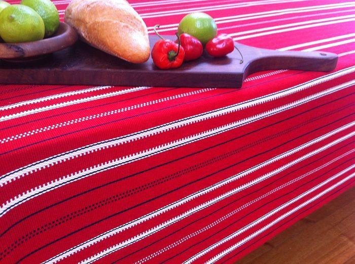 PIROSKA's Caravan tablecloth turns a table into a celebration. www.piroska.com.au