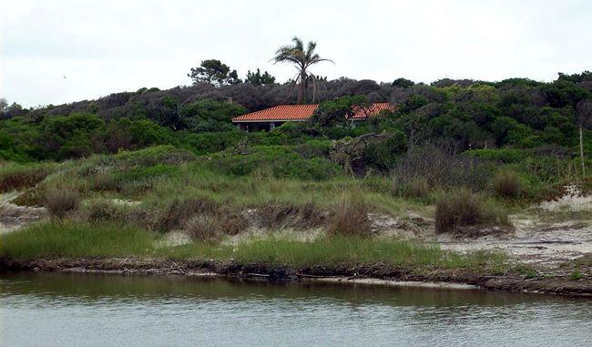 Arroyo El Bagre en San Luis, Uruguay