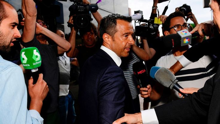 Jorge Mendes gives evidence in Radamel Falcao tax fraud investigation
