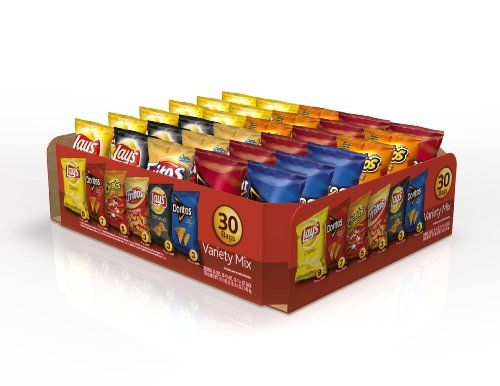Quick & Easy Food Recipes at Hifow.com   Share this article on your favorite social media and get it for free!  $9.88         Frito-Lay Classic Mix Variety Pack provides the perfect portion size and variety to keep your entire family happy. From the pantry to the lunch box, all you have to do...