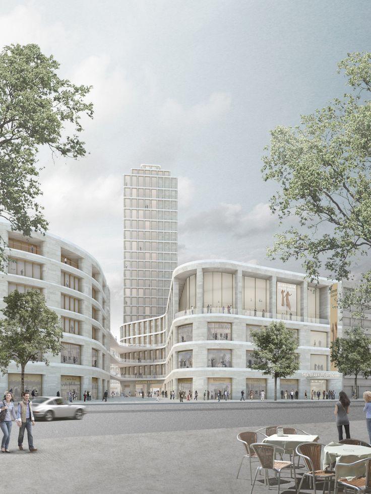 Chipperfields neue Pläne für das Berliner Kudamm-Karree / Wohnen statt Büros - Architektur und Architekten - News / Meldungen / Nachrichten - BauNetz.de
