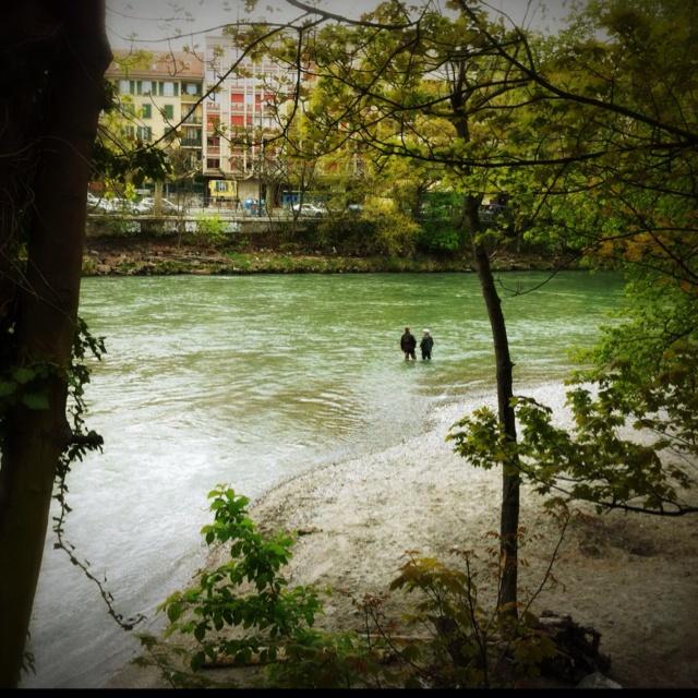 pescatori di fiume