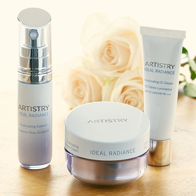 Say hello to brighter, even skin! #Artistry #IdealRadiance #ArtistrySkincare #Amway #Skincare #BeautifulSkin