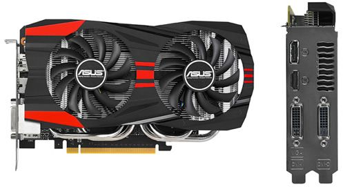 ASUS GeForce GTX 760 DirectCU II OC 2GB GDDR5 GeForce GTX ...