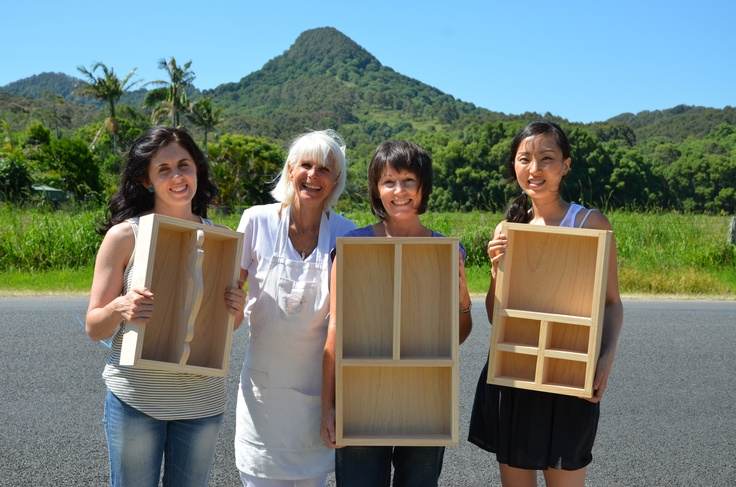 Four days of woodworking bliss in Mullumbimby NSW