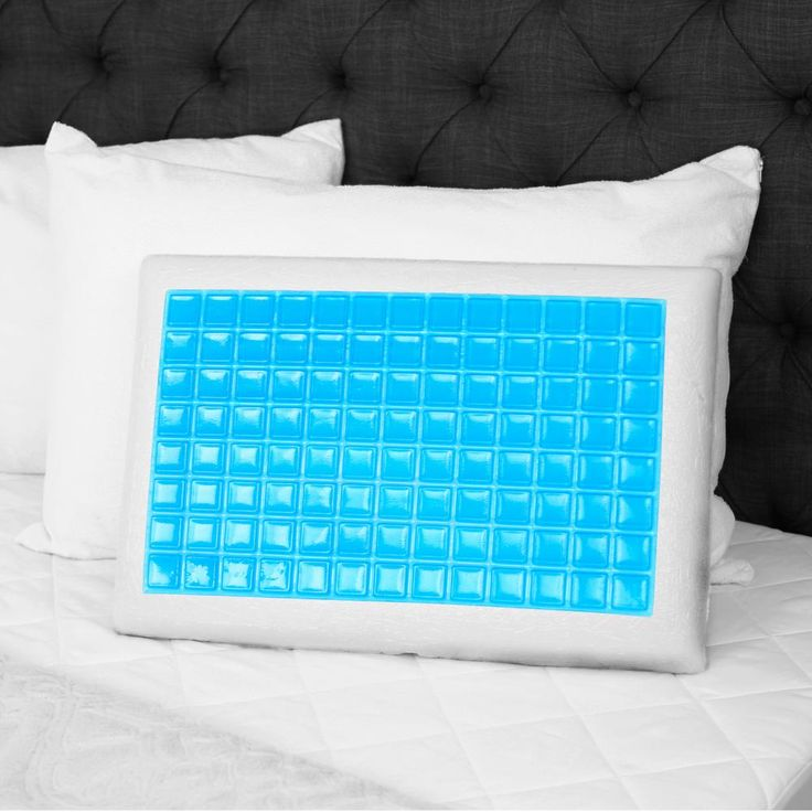 Angeland Reversible Gel Memory Foam Pillow, White