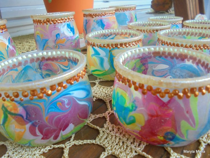Hobby- mój własnoręczny Decoupage / lampiony // Hobby- my own Decoupage / lanterns