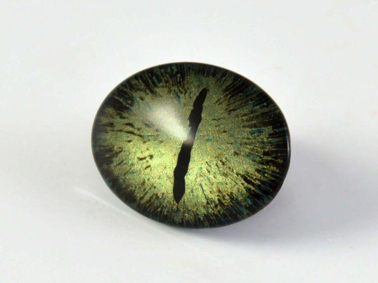Dragon eye č. 7 / 18 x 25 mm