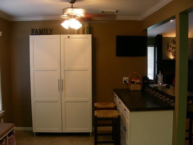 how to build a freestanding kitchen pantry