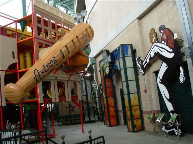 Houston Astros Minute Maid SQUEEZE PLAY by Iplayco #baseball #stadium #Houston #Astros #playground #retail #themed