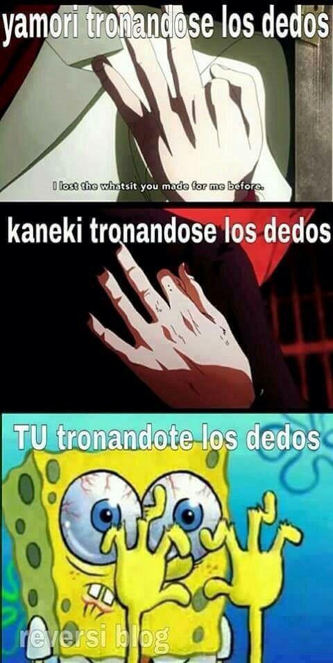 los memes de tokyo ghoul y kaneki :v #humor # Humor # amreading # books # wattpad