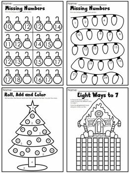 1000+ ideas about Christmas Math Worksheets on Pinterest ...